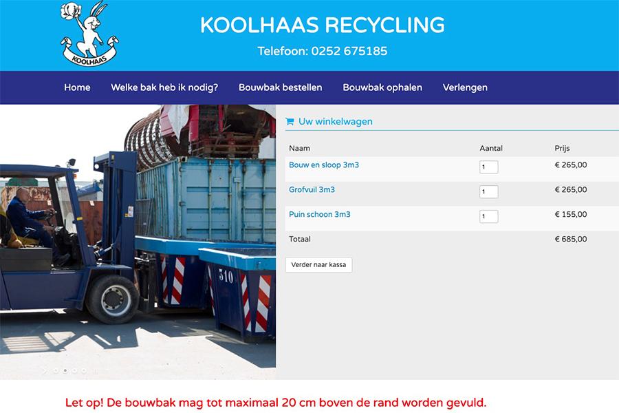 Koolhaas recycling webshop
