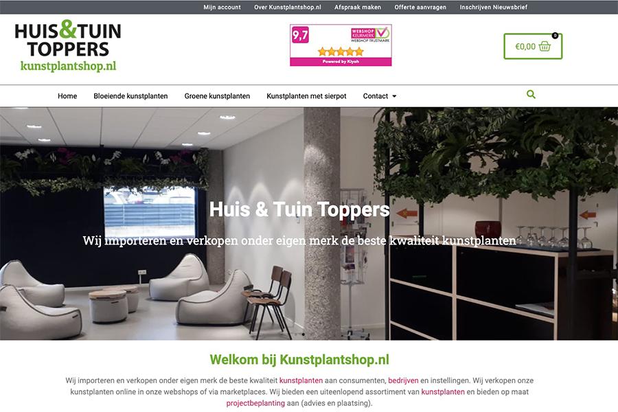Kunstplantshop  webshop