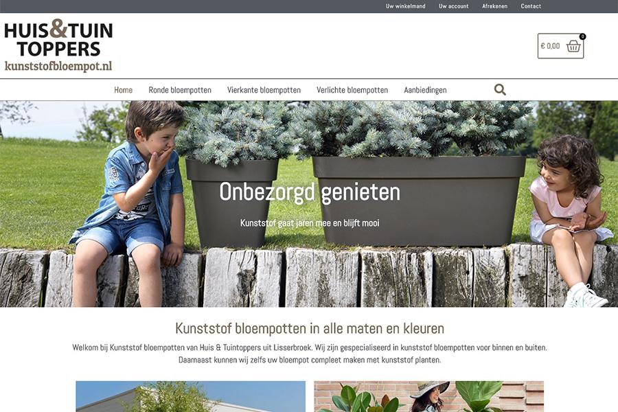 Kunststofbloempot webshop
